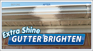 Gutter Cleaning by Camelot Pressure Washing in Concord, NC