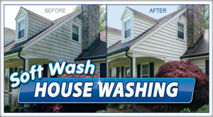 Softwash by Camelot Pressure Washing in NC