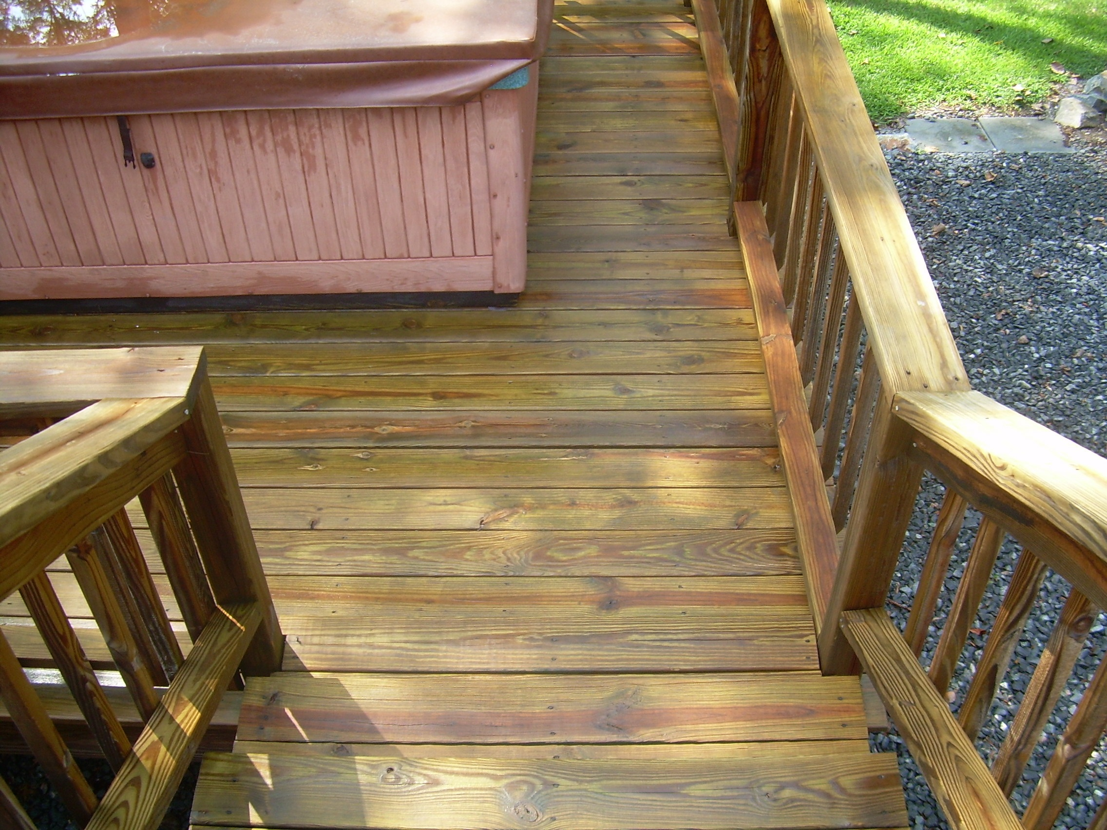 Deck Cleaning Camelot Pressure Washing