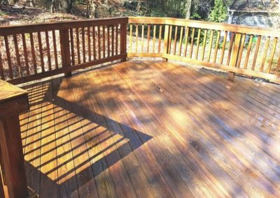 deck cleaning by Camelot Pressure Cleaning in Charlotte, NC