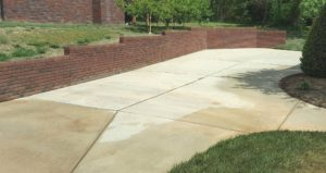 Driveway cleaning in Harrisburg, NC