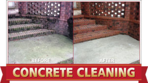 Concrete Cleaning by Camelot Pressure Washing in Charlotte, NC