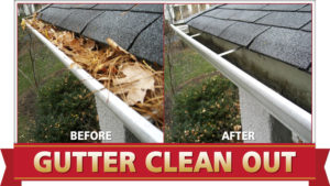 Gutter Cleaning by Camelot Pressure Washing in Charlotte, NC