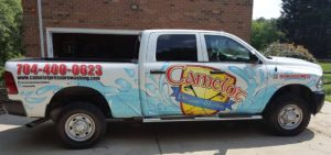 Camelot Pressure Washing Truck in Charlotte, NC