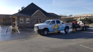 Pressure washing by Camelot Pressure Washing in Charlotte, NC