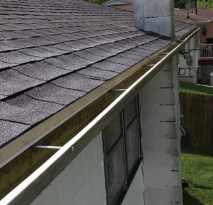 Clean gutters by Camelot Pressure Washing in Charlotte, NC