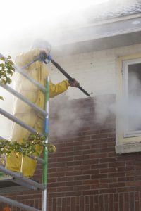 Softwash pressure washing by Camelot Pressure Washing in Charlotte, NC