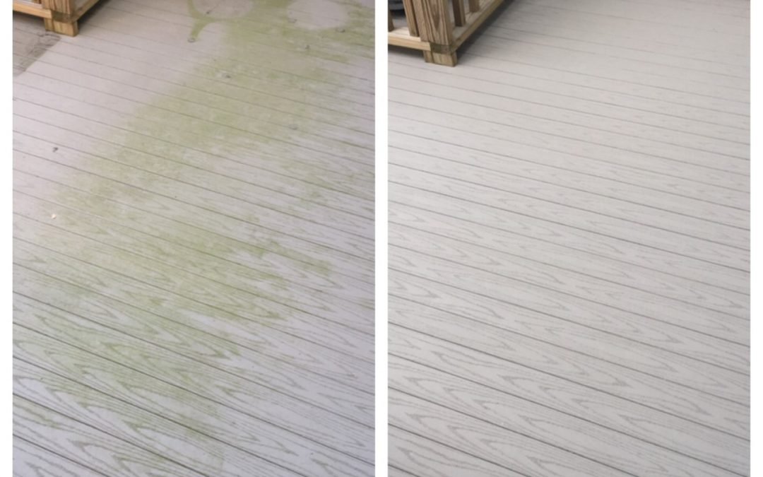 Deck Cleaning Done The Right Way Camelot Pressure Washing
