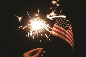 Happy independence day from Camelot pressure washing