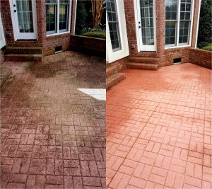 Pressure washing by Camelot Pressure Washing in Harrisburg, NC