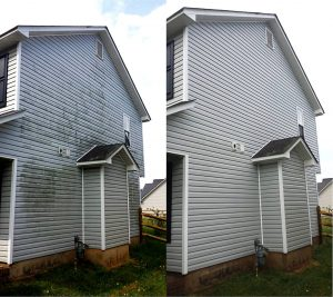 Pressure washing by Camelot Pressure Washing in Harrisburg, NC, and serving Charlotte, NC