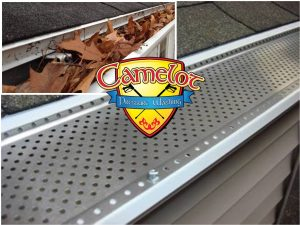 Gutter guards from Camelot Pressure Washing in Harrisburg, NC