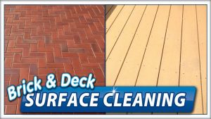 Patio and deck cleaning by Camelot Pressure Washing in Harrisburg, NC