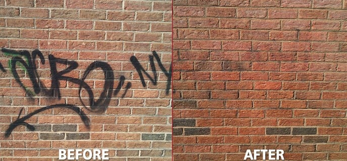 Camelot removes graffiti in the Charlotte, NC area