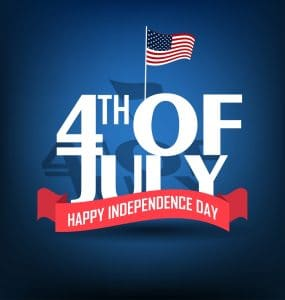 Independence Day is America's birthday on July 4th